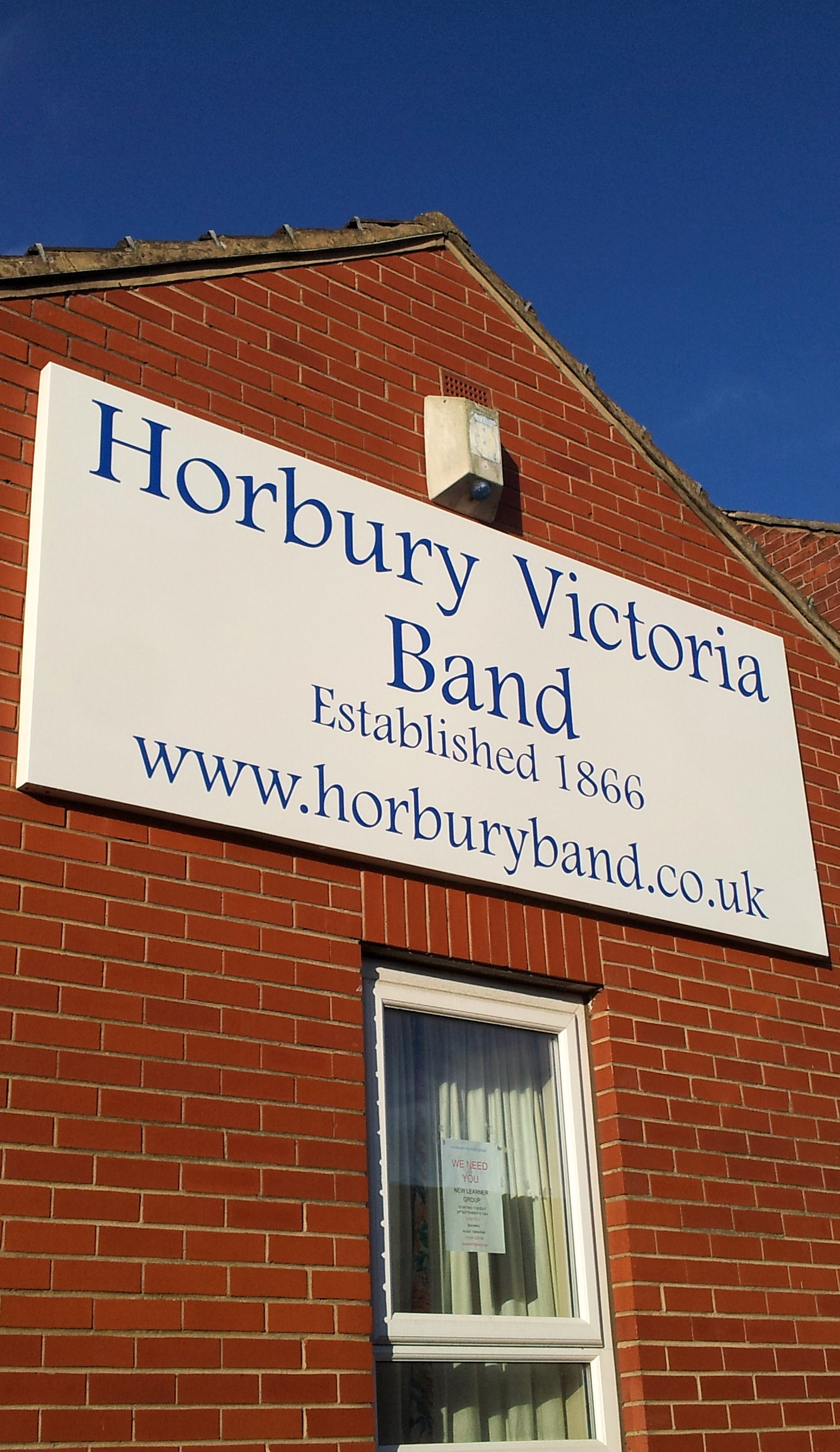 Horbury Band - Band Room